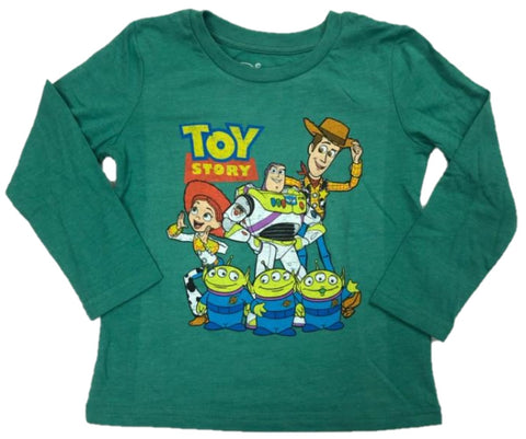 Walt Disney Toy Story Woody Buzz Lightyear Jesse Aliens Boys T-Shirt