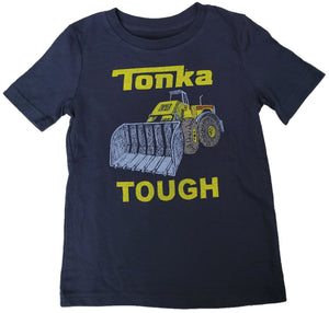 Tonka Tough Trucks Frontloader Boys T-Shirt (Blue)