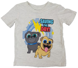 Puppy Dog Pals Saving The Day Disney Boys T-Shirt