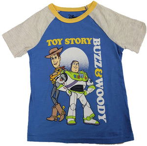 Toy Story Buzz Lightyear & Woody Boys T-Shirt