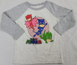 PJ Mask Hasbro Disney Boys T-Shirt (Grey)