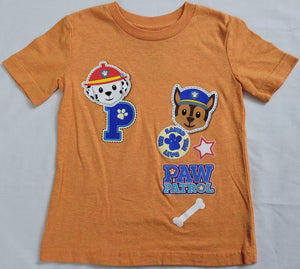 We Saved The Day Paw Patrol Boys T-Shirt (Peach)