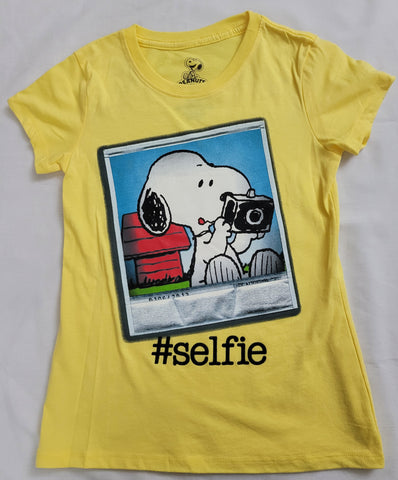 Snoopy Peanuts #Selfie Boys T-Shirt (Yellow) (Image Coming Soon)