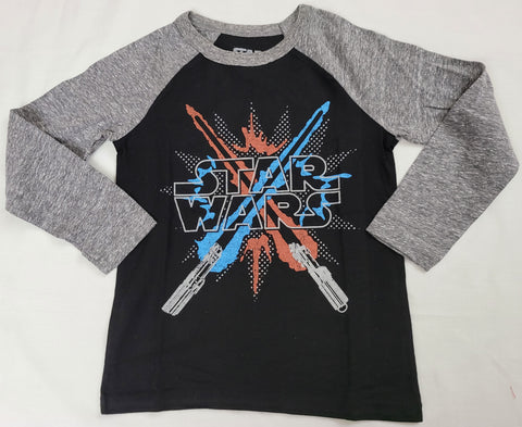 LightSabers Sword Battle Star Wars Boys T-Shirt Long Sleeve