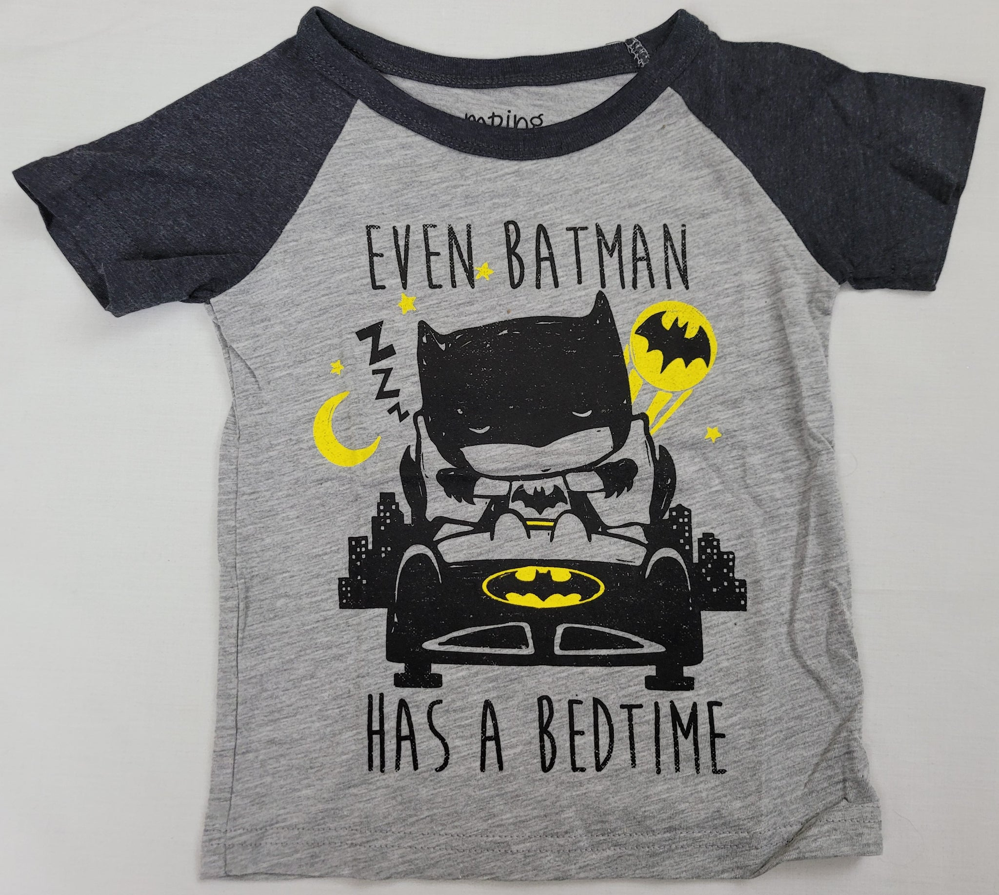 Even Batman Has A Bedtime DC Comics Boys T-Shirt 2T 3T 4T 5T