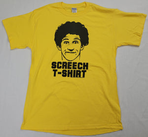 Screech Saved By The Bell Mens T-Shirt (Yellow)