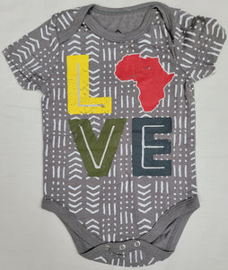 Love Africa Infant Baby Onesie