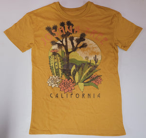 Joshua Tree Cold Crush Mens T-Shirt (Yellow)