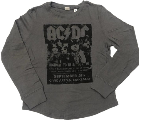 AC/DC Highway to Hell Tour '79 Boys Long Sleeve T-Shirt