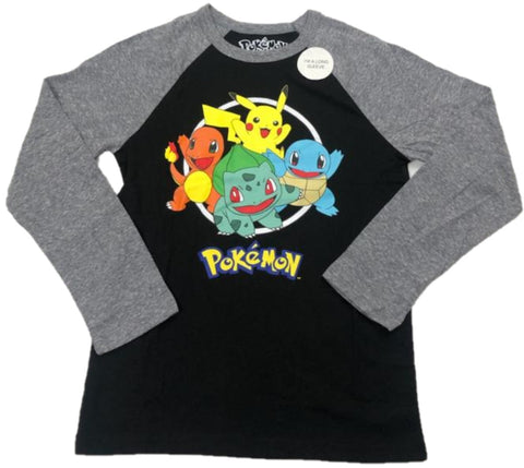 Pokemon Pikachu Bulbasaur Squirtle Charmander Boys T-Shirt