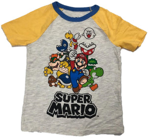 Super Mario & Cast Boys T-Shirt
