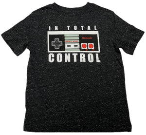 In Total Control Nintendo NES N.E.S. Video Game Boys T-Shirt