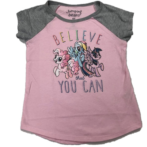 Believe That You Can My Lil Pony Girls T-Shirt