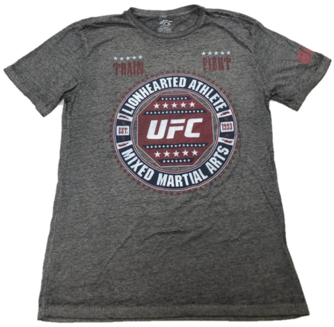 LionHearted Athlete Mixed Martial Arts UFC Est. 1993 Train Fight Mens T-Shirt