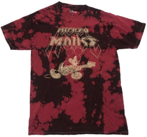 Mickey Mouse Rock Guitar Tie Dye Mens T-Shirt