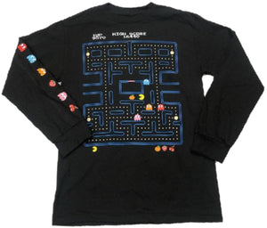 Pac-Man Namco Mens Long Sleeve T-Shirt
