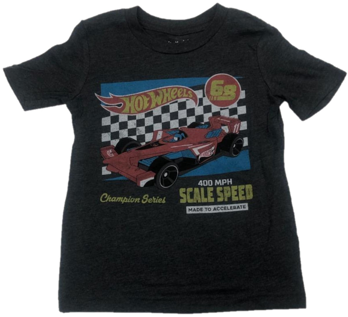 Hot Wheels 68 Champion Series Scale Speed Boys T-Shirt