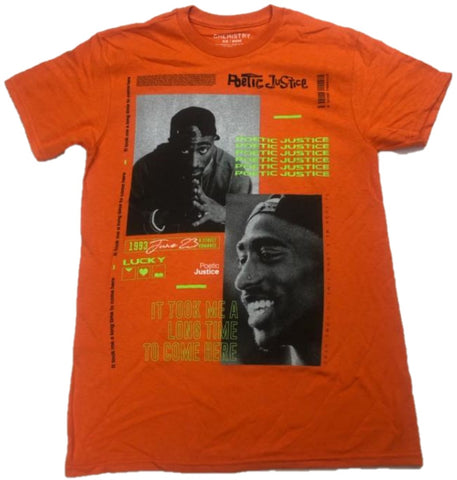 Poetic Justice Lucky Street Romance Song Lyrics Tupac Shakur 2Pac Mens T-Shirt