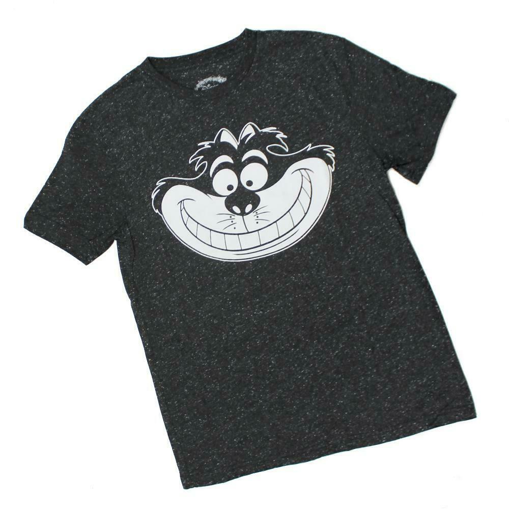 Disney Cheshire Cat Face Alice in Wonderland Mens T-Shirt