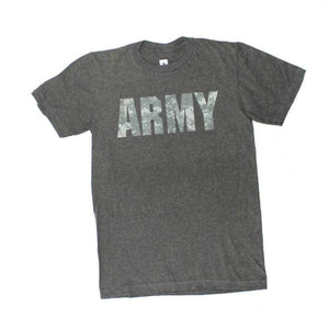 USA US Army Camo Digi Logo Licensed Mens T-Shirt