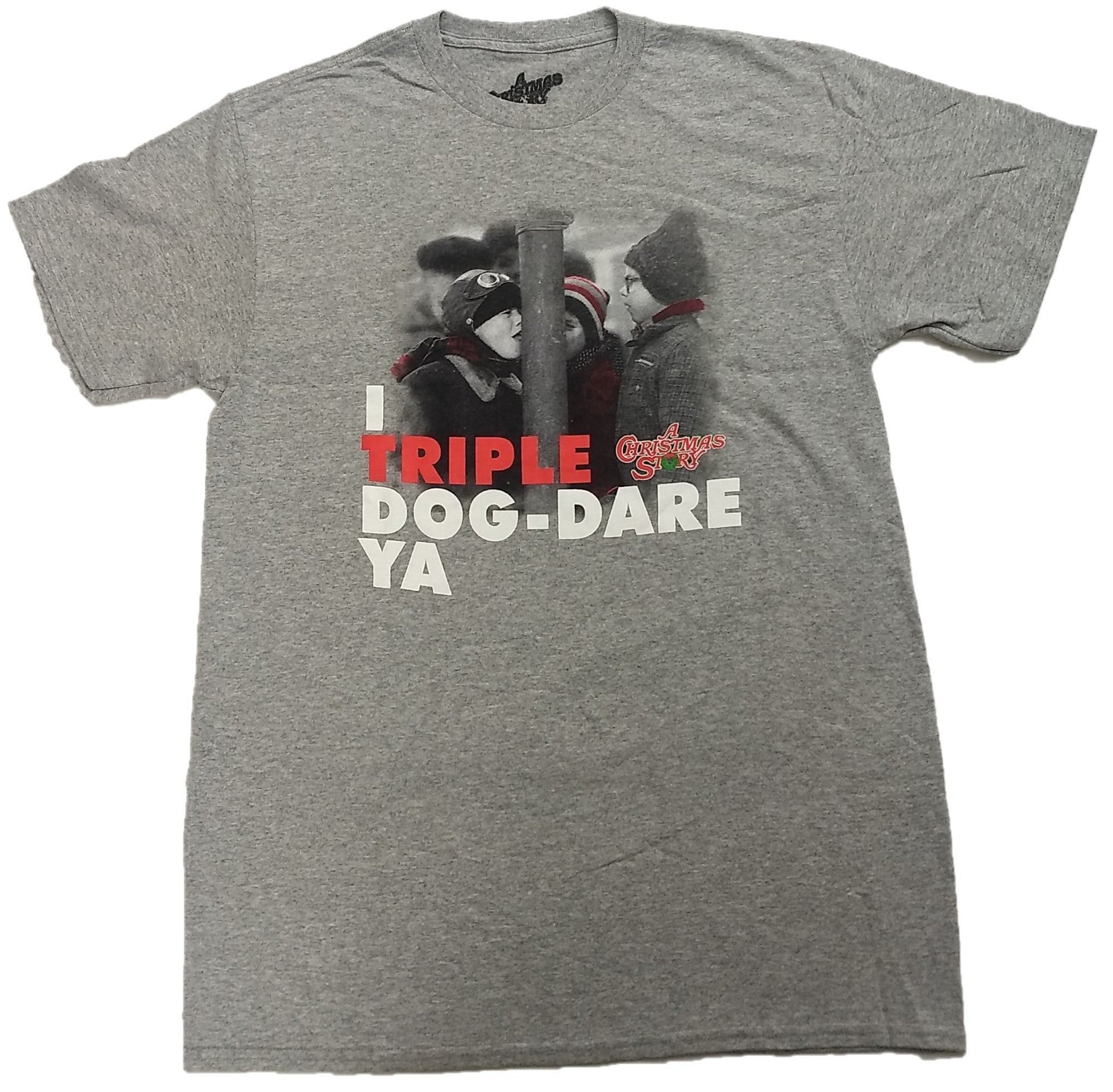 A Christmas Story I Triple Dog Dare Ya Mens T-Shirt
