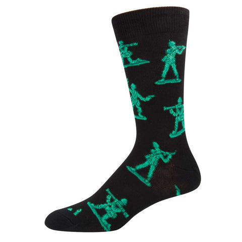 Army Men Mens Socksmith Crew Socks