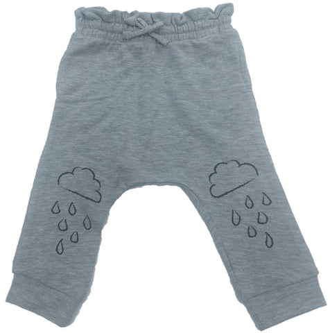 Afton Street Unisex Pants Cloud Rain (Grey)