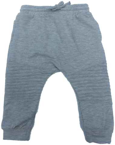Afton Street Unisex Pants Wave Design (Grey)