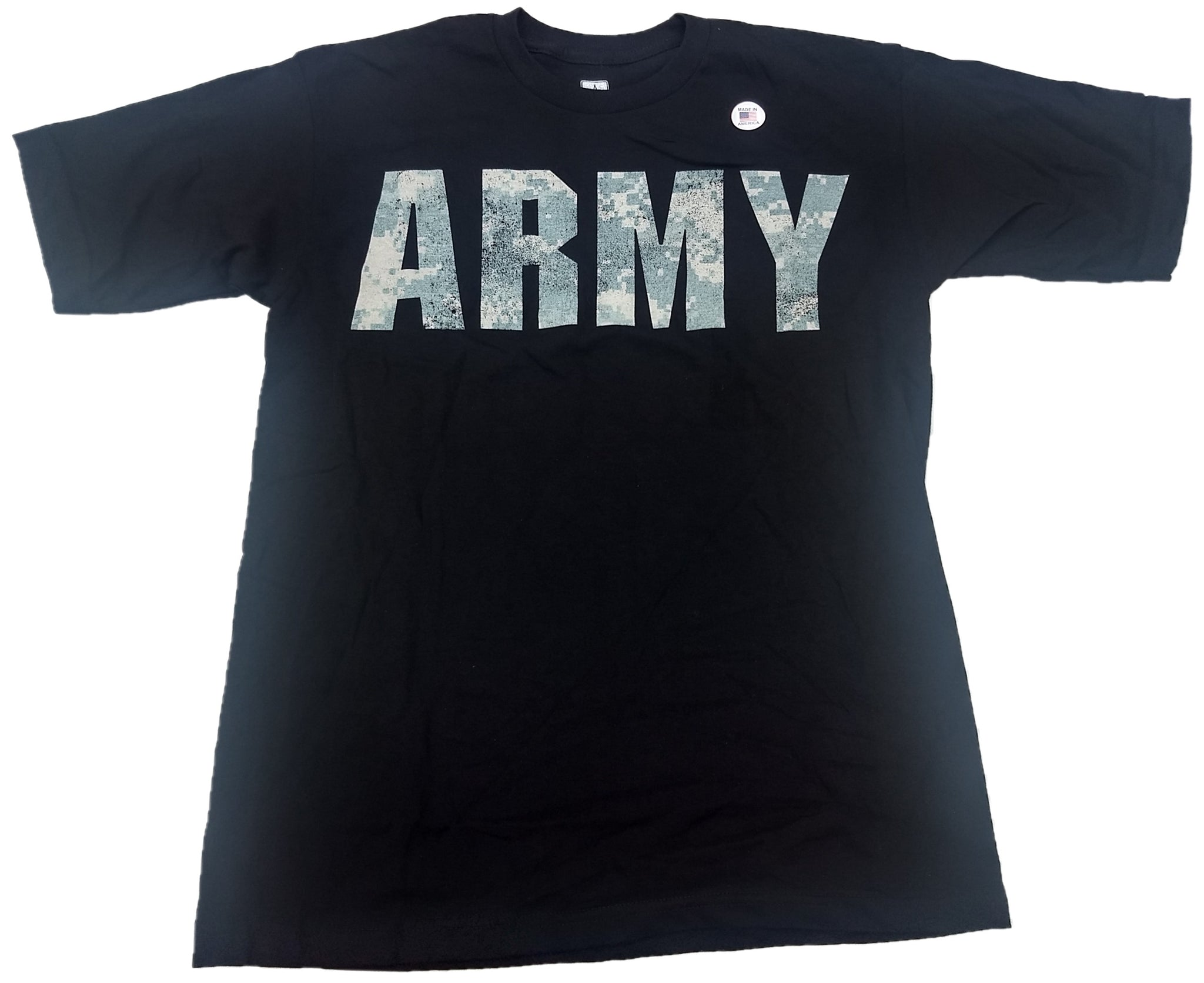 Army USA US Digi Logo Made in America Mens T-Shirt
