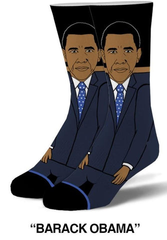 Barrack Obama Knit Men's Crew Cool Socks