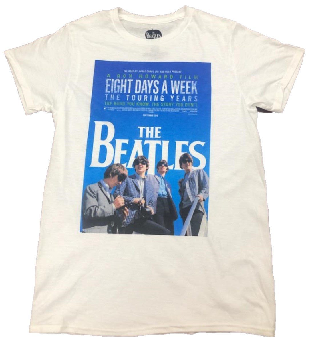 The Beatles Eight Days a Week The Touring Years Mens T-Shirt