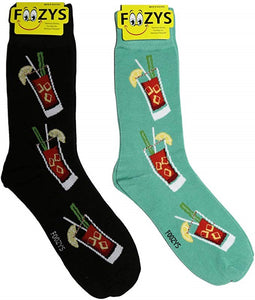 Bloody Mary Foozys Men's Crew Socks Foozy
