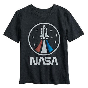NASA Vintage Space Shuttle Boys Tee T-Shirt