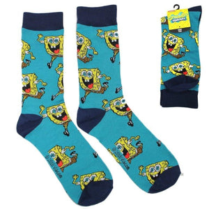 Spongebob Square Pants Nickelodeon Crew Socks