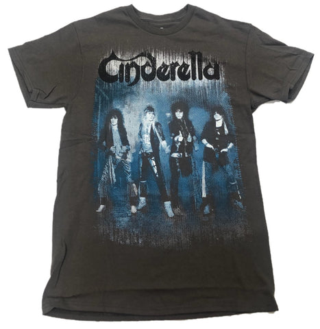 Cinderella Rock Band Cast Photo Mens T-Shirt