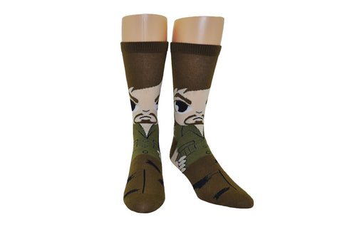 Daryl Dixon Walking Dead AMC Crew Socks