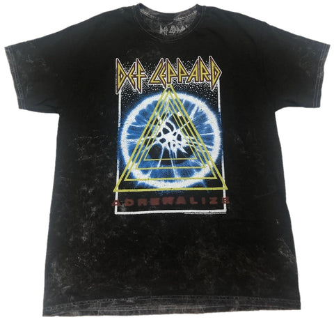 Def Leppard Adrenalize 7 Day Weekend Tour Schedule 1993 Mens T-Shirt