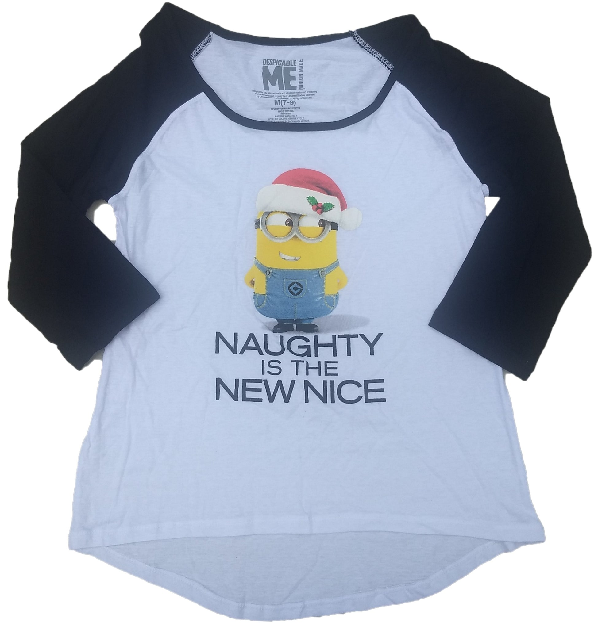 Despicable Me Naughty is the New Nice Juniors T-Shirt