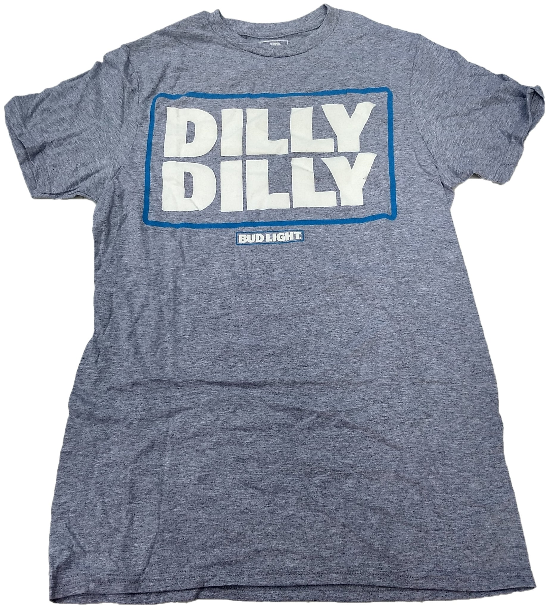Dilly Dilly Bud Light Budweiser Beer Lager Mens T-Shirt (Grey)