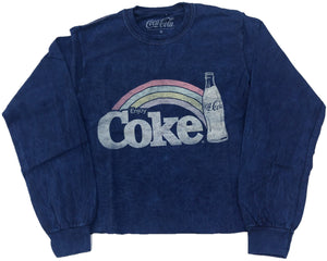 Enjoy Coke Coca-Cola Crop Top Juniors Womens T-Shirt