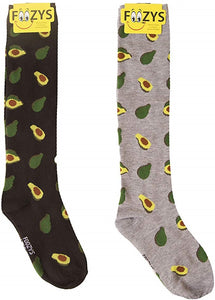Avocados Foozys Knee High Socks