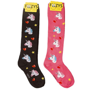 Unicorn Foozys Knee High Socks