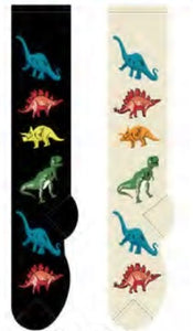 Dinosaurs Foozys Knee High Socks