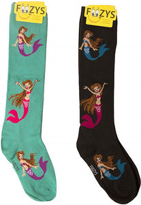 Mermaids Foozys Knee High Socks