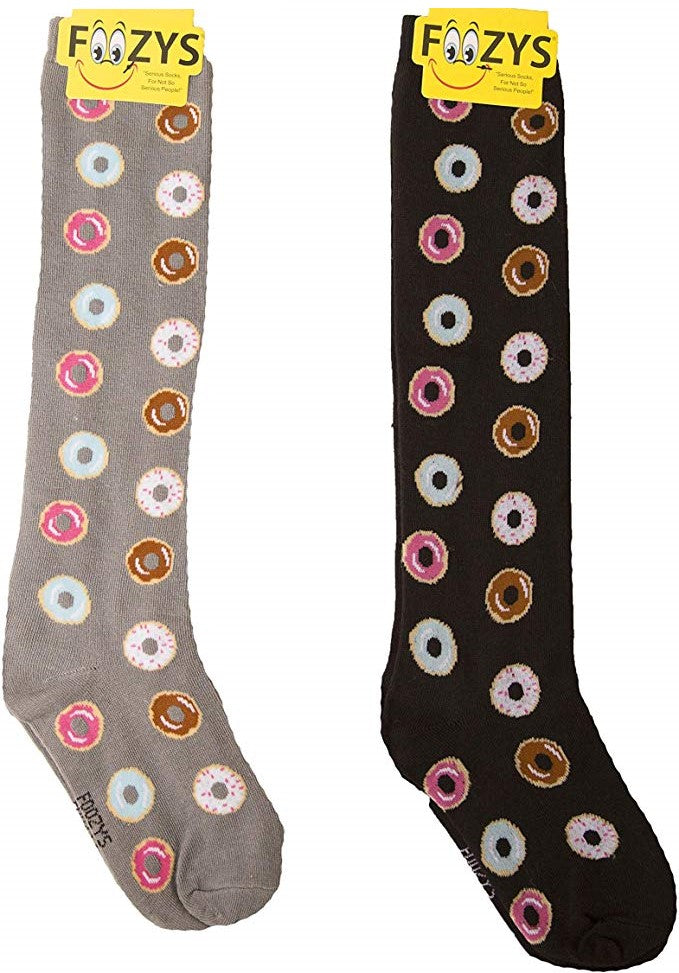 Donuts Foozys Knee High Socks
