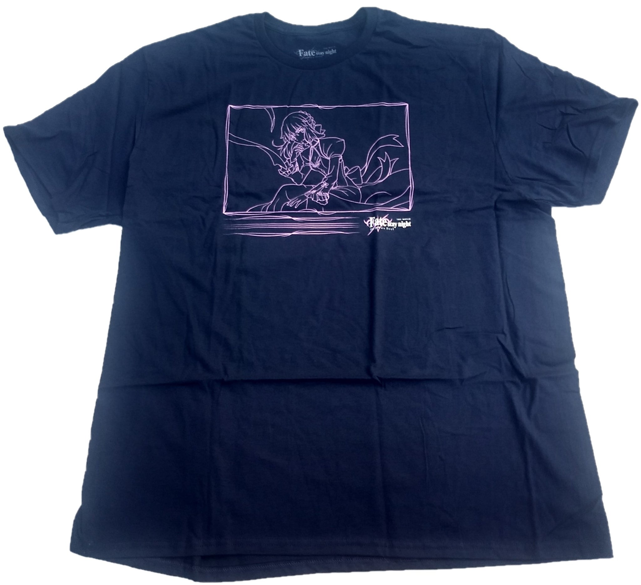 Fate Stay Night Heaven's Feel Japanese Animation Loot Crate Mens T-Shirt