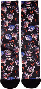 Five Nights at Freddy's Sister Location Mens Crew Socks
