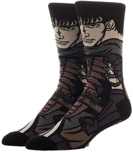 Berserk GUTS 360° Degree Character Crew Socks
