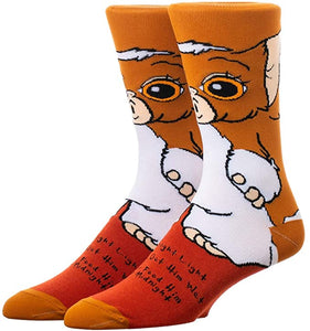Gizmo Gremlins 360° Degree Character Crew Socks