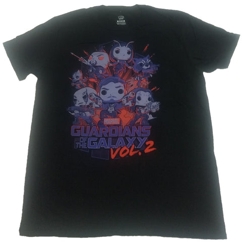 Guardians of the Galaxy Vol. 2 Marvel Funko Pop! Tee Mens T-shirt